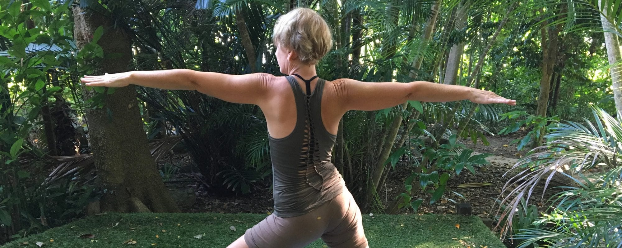 Julie Heskins from Cairns teaches Yoga Classes